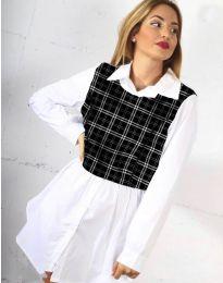 Košile - kód 9990 - 5 - bílá