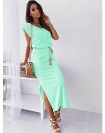 Šaty - kód 6622 - mentolová