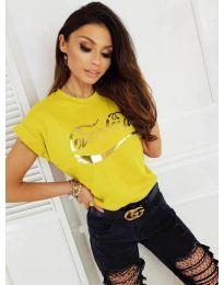 Tričko - kód 3659 - žlutá