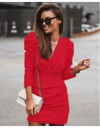 Šaty - kód 870 - červená