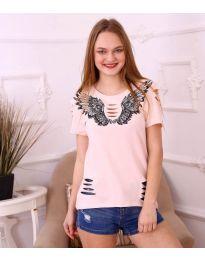 Tričko - kód 3568 - růžova