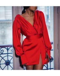 Šaty - kód 492 - červená