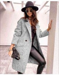 Kabát - kód 7278 - šedá