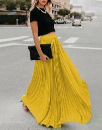 Sukně - kód 3146 - žlutá
