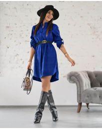Šaty - kód 9601 - tmavě modrá