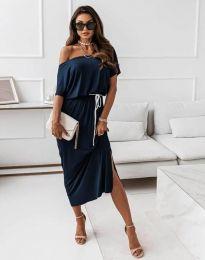 Šaty - kód 11973 - modrá