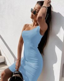 Šaty - kód 6412 - světle modrá