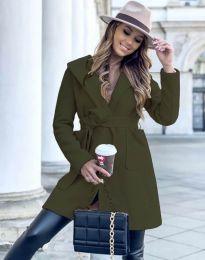 Kabát - kód 4973 - olivově zelená