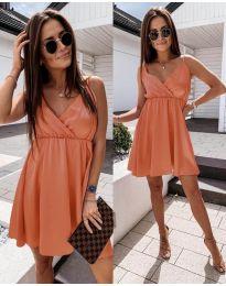 Šaty - kód 1000 - oranžová