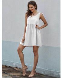 Šaty - kód 2255 - bílá