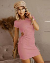 Šaty - kód 8556 - růžova