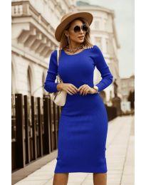 Šaty - kód 8485 - tmavě modrá