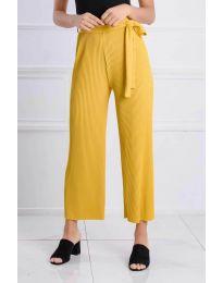 Kalhoty - kód 4512 - žlutá