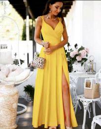 Šaty - kód 8489 - žlutá