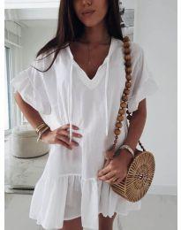 Šaty - kód 559 - bílá