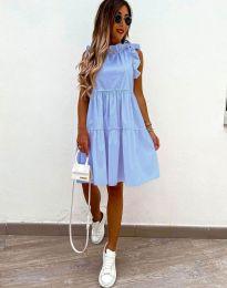 Šaty - kód 2663 - světle modrá