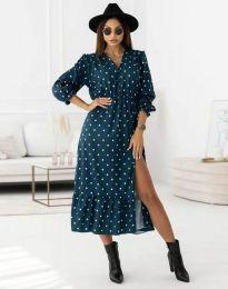 Šaty - kód 0836 - modrá