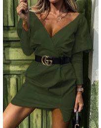 Šaty - kód 1617 - zelená