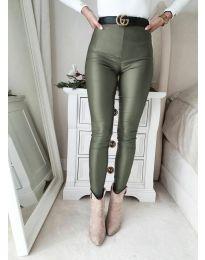 Kalhoty - kód 2789 - 2 - olivová  zelená