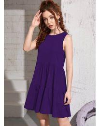 Šaty - kód 4471 - tmavě fialová