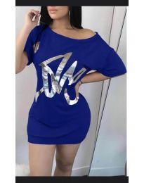 Šaty - kód 1100 - modrá