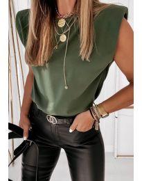 Tričko - kód 2324 - olivově zelená