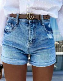 Krátké kalhoty - kód 4503 - 1 - modrý