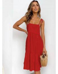 Šaty - kód 630 - červená