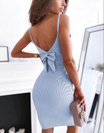 Šaty - kód 0987 - světle modrá