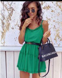 Šaty - kód 7758 - zelená