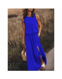 Šaty - kód 640 - modrá