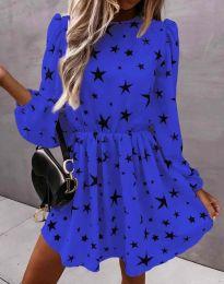 Šaty - kód 1689 - modrá
