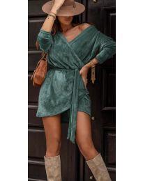 Šaty - kód 238 - tyrkysový
