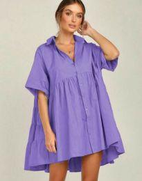 Šaty - kód 6464 - fialová