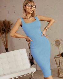 Šaty - kód 5965 - světle modrá