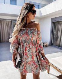 Šaty - kód 2508 - barevné