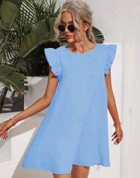 Šaty - kód 6261 - světle modrá