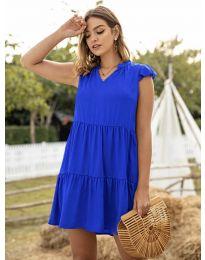 Šaty - kód 696 - modrá