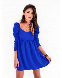 Šaty - kód 390 - modrá