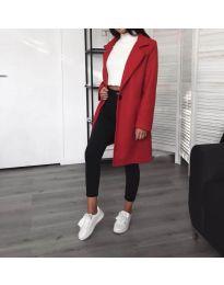 Kabát - kód 950 - červená