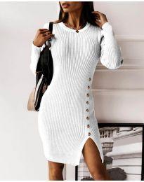 Šaty - kód 3200 - bílá