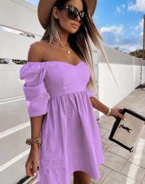 Šaty - kód 7413 - fialová