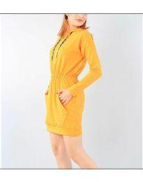 Šaty - kód 7315 - hořčičná
