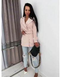 Kabát - kód 6061 - růžova