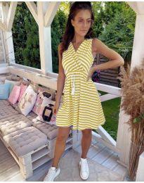 Šaty - kód 3148 - žlutá