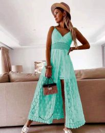 Šaty - kód 2704 - tyrkysový