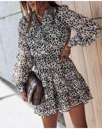 Šaty - kód 6014 - 2 - barevné