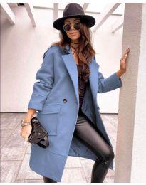 Kabát - kód 7278 - modrý