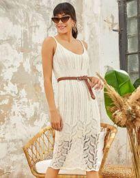 Šaty - kód 0351 - bíla