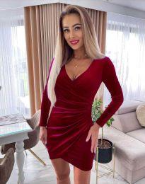 Šaty - kód 3872 - bordeaux